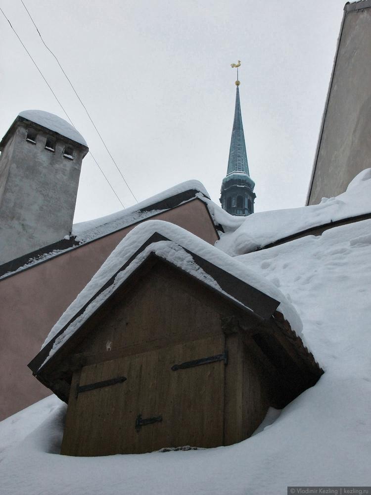 Рижские крыши