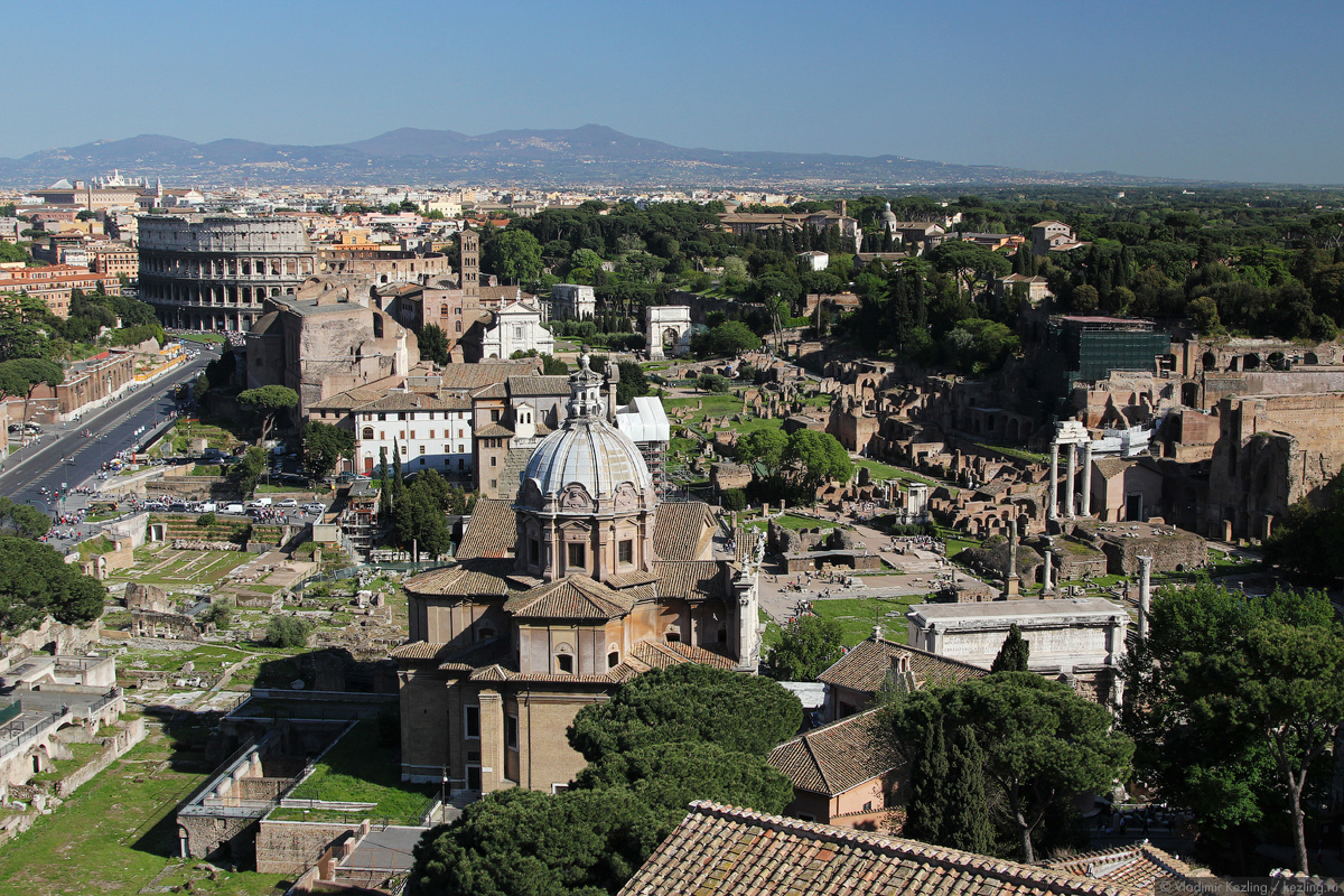 Итальянские каникулы. Рим античный