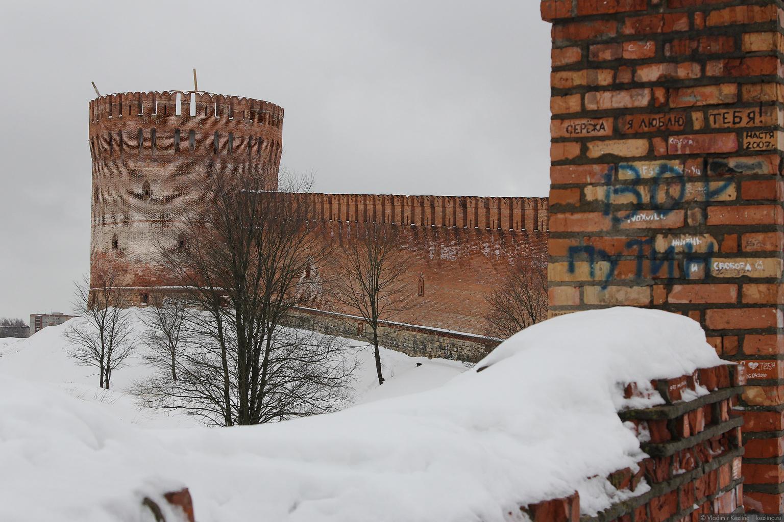 Зимние русские просторы. Смоленск