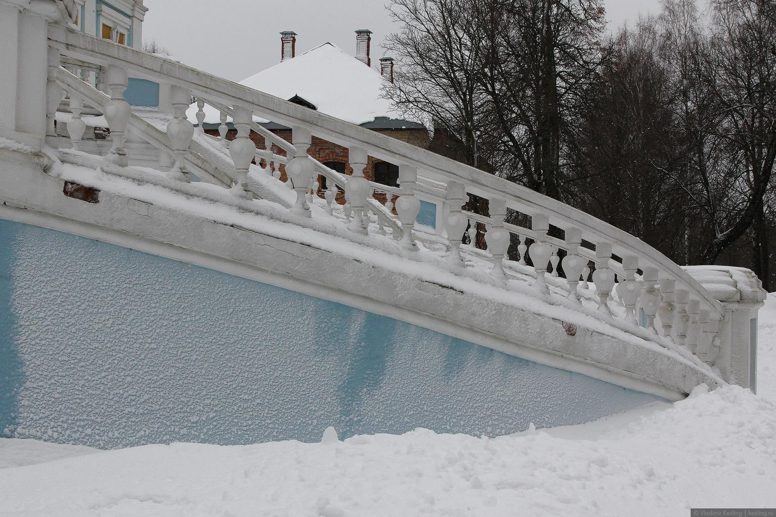 Зимние русские просторы. Хмелита и Городок
