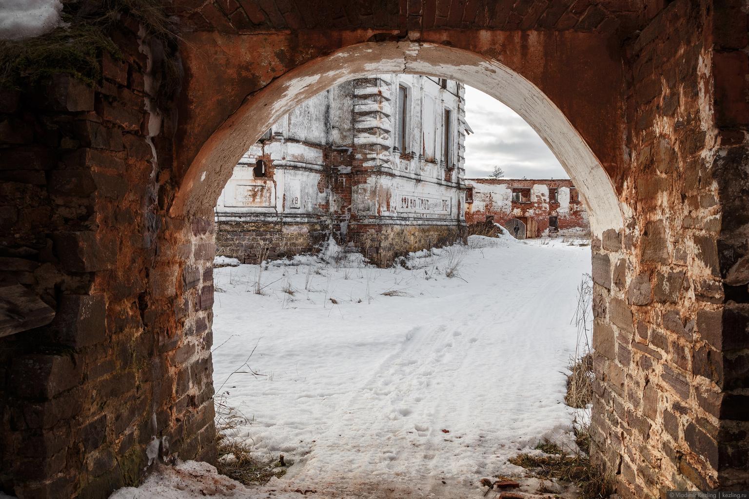 Зимняя Южная Карелия. Петрозаводск, Ионо-Яшезерский монастырь