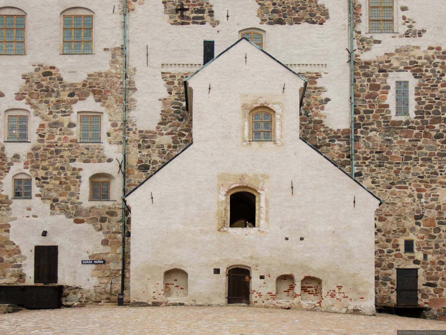 Юго-западная Финляндия. Турку. Замок Або