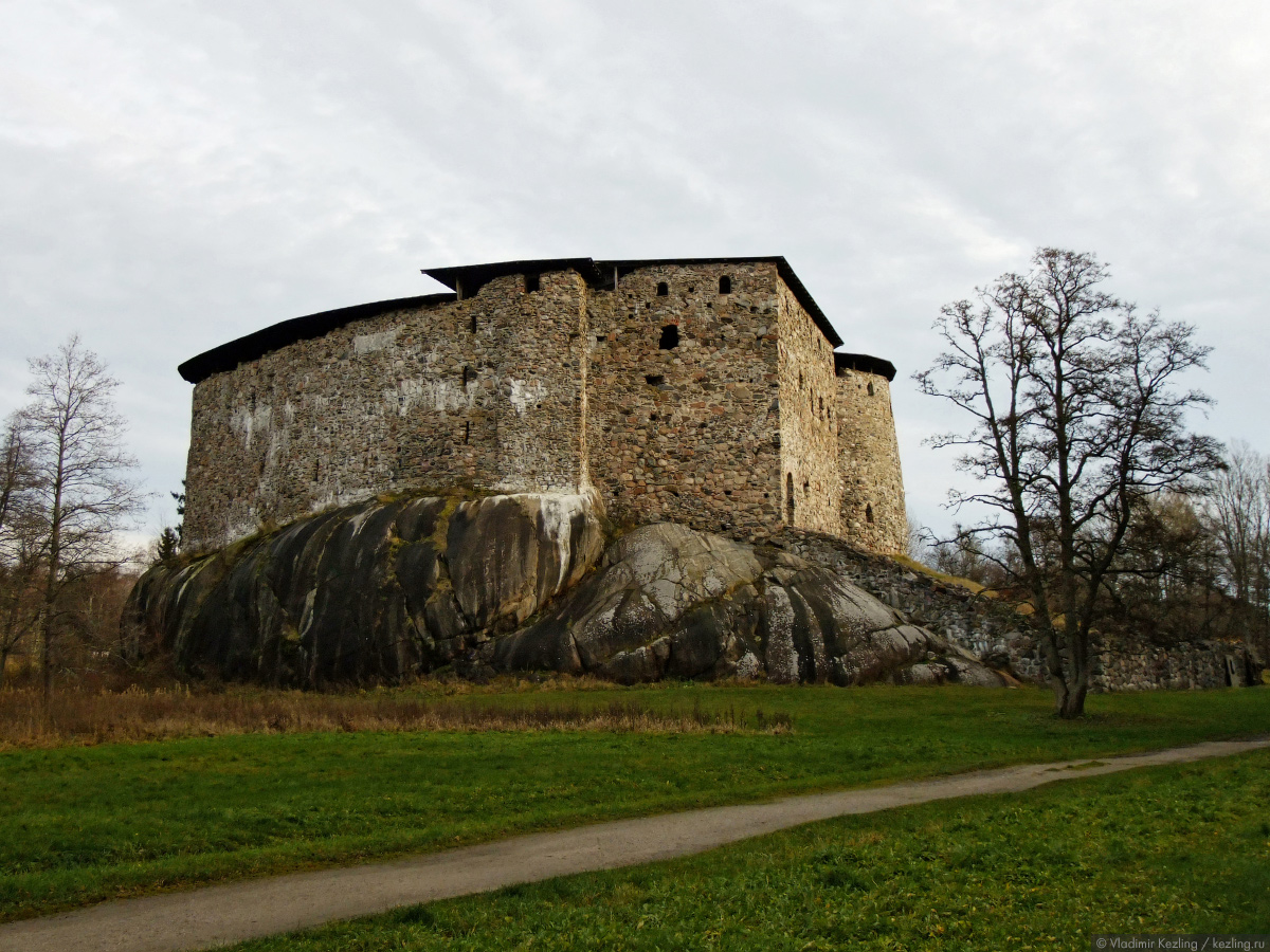 Юго-западная Финляндия. Замок Разеборг