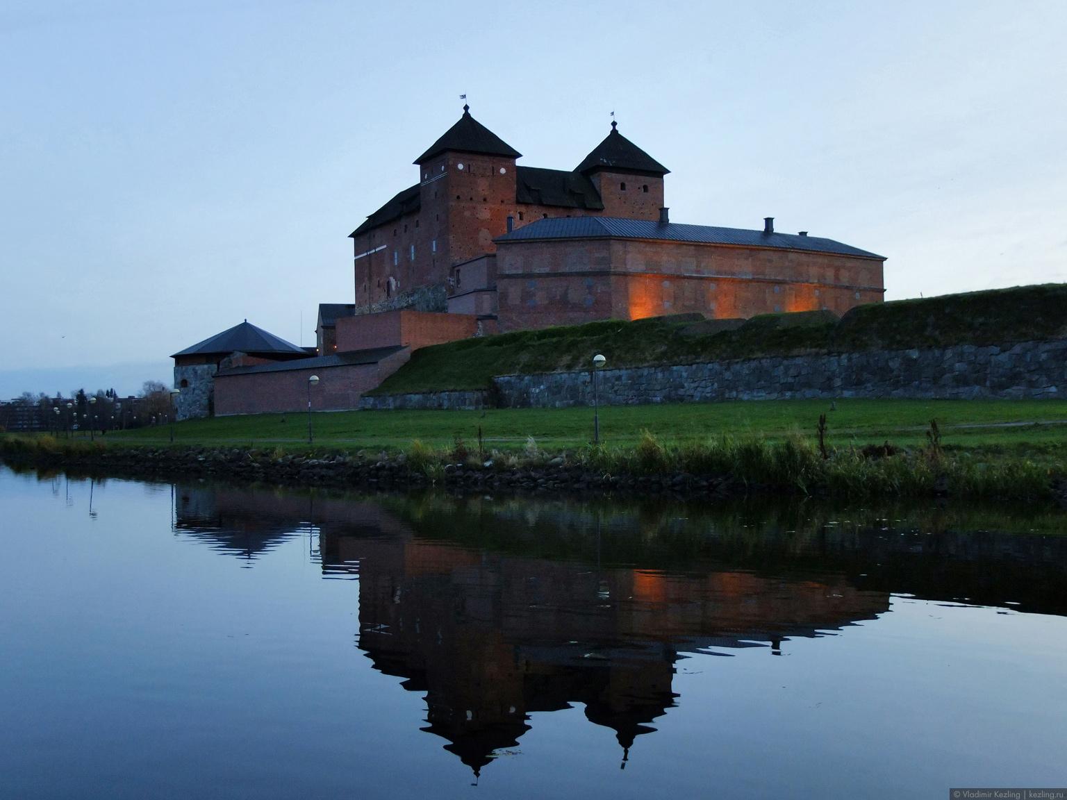 Юго-западная Финляндия. Крепость Хямеэнлинна