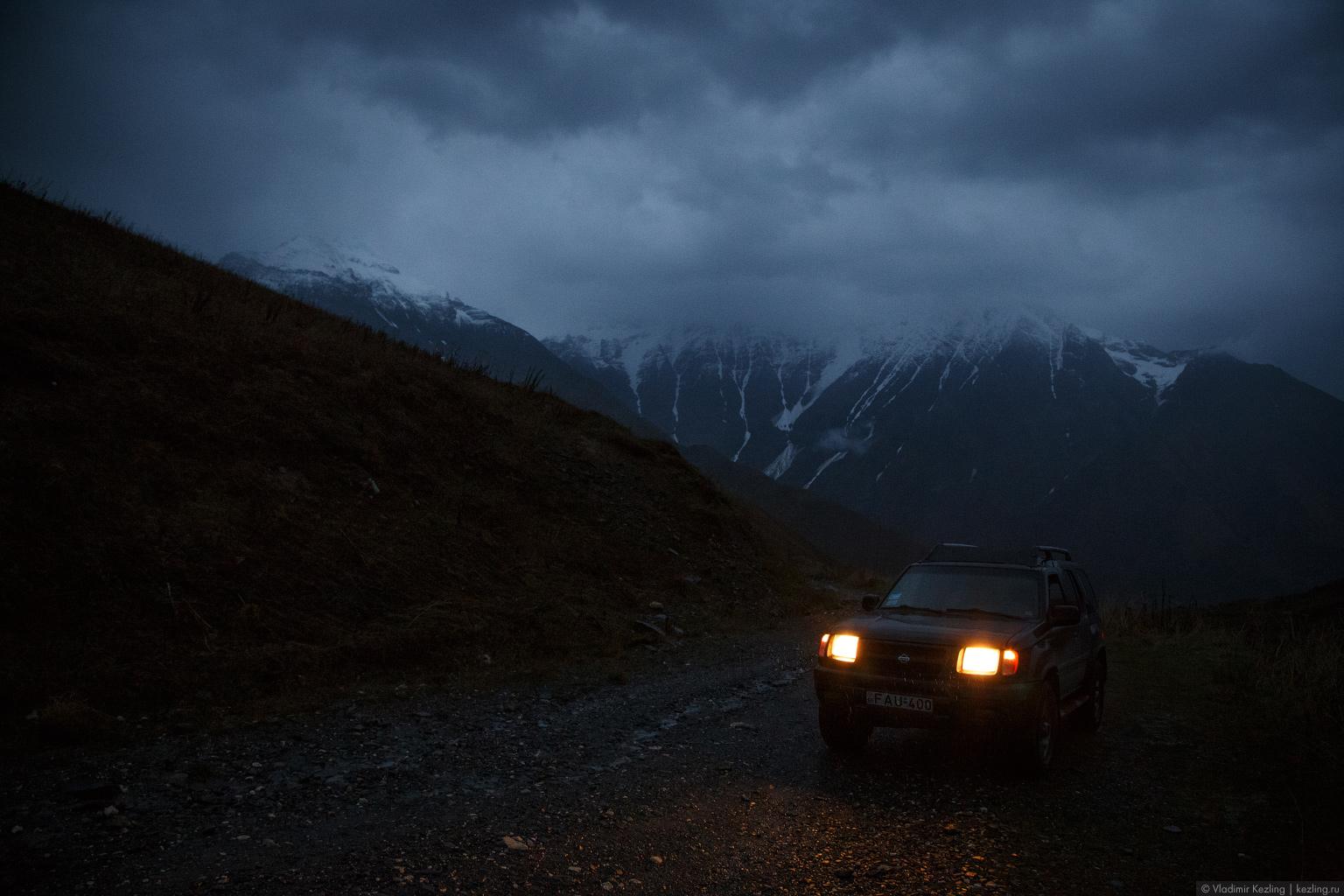 Закавказская осень. Грузия. Нижняя Сванетия: добраться до Ушгули