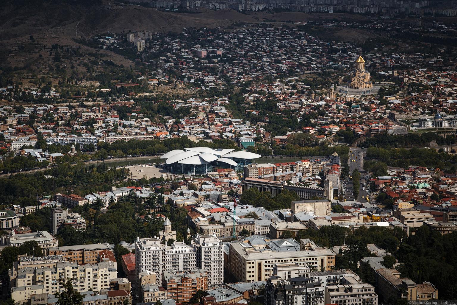 Закавказская осень. Грузия. Тбилиси