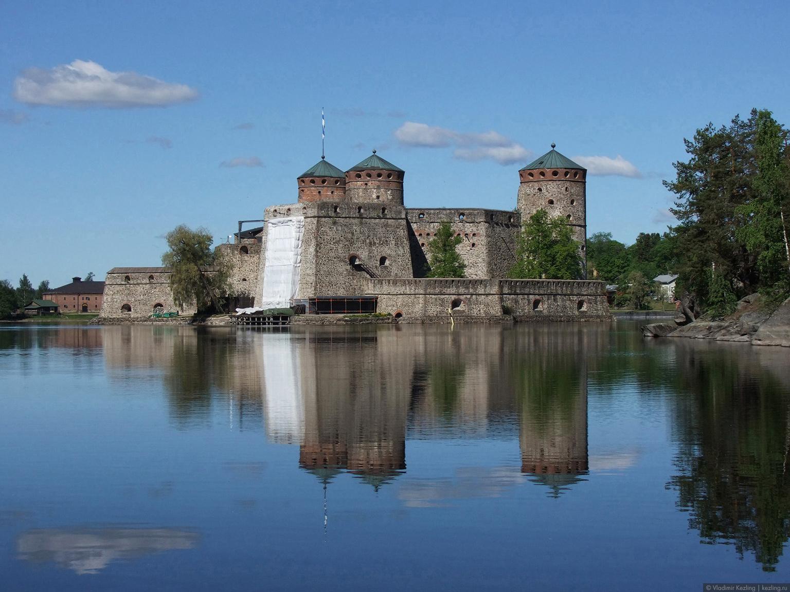 Финской дорогой зелёного золота. Крепость Олавинлинна