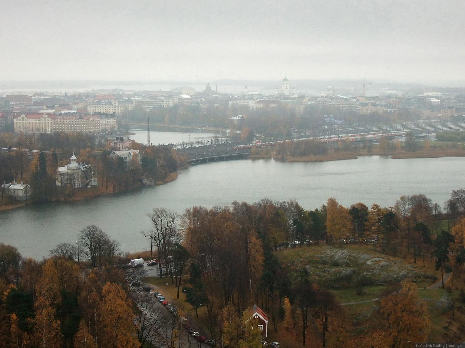 Круиз в Финляндию. Дождь в Хельсинки