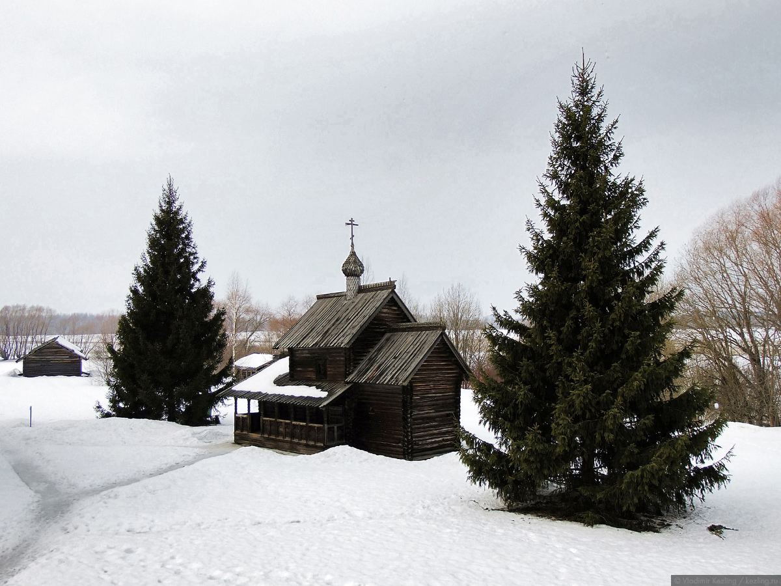 Великий Новгород зимой