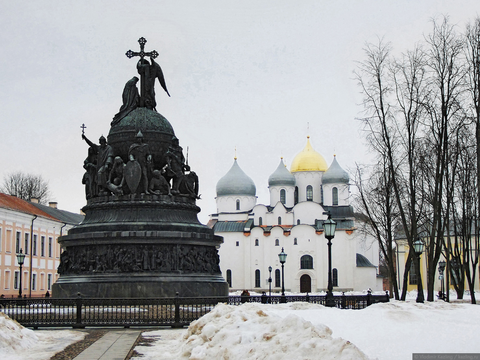 """Памятник """"Тысячелетие Руси"""""""