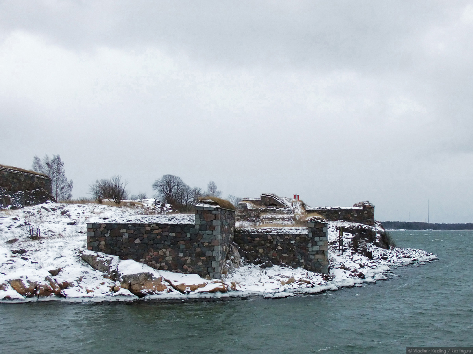 Зимняя симфония в Хельсинки. Крепость Суоменлинна