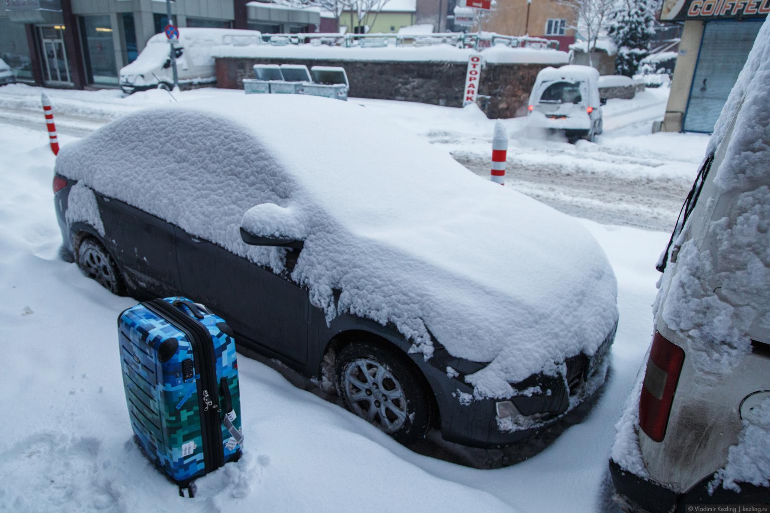 Зимняя Турция