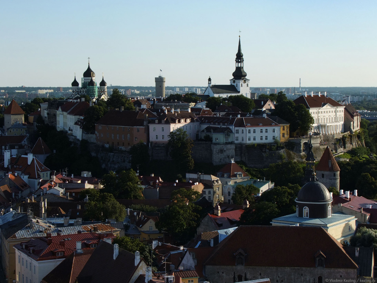 Незапланированная Эстония. Летний Таллин