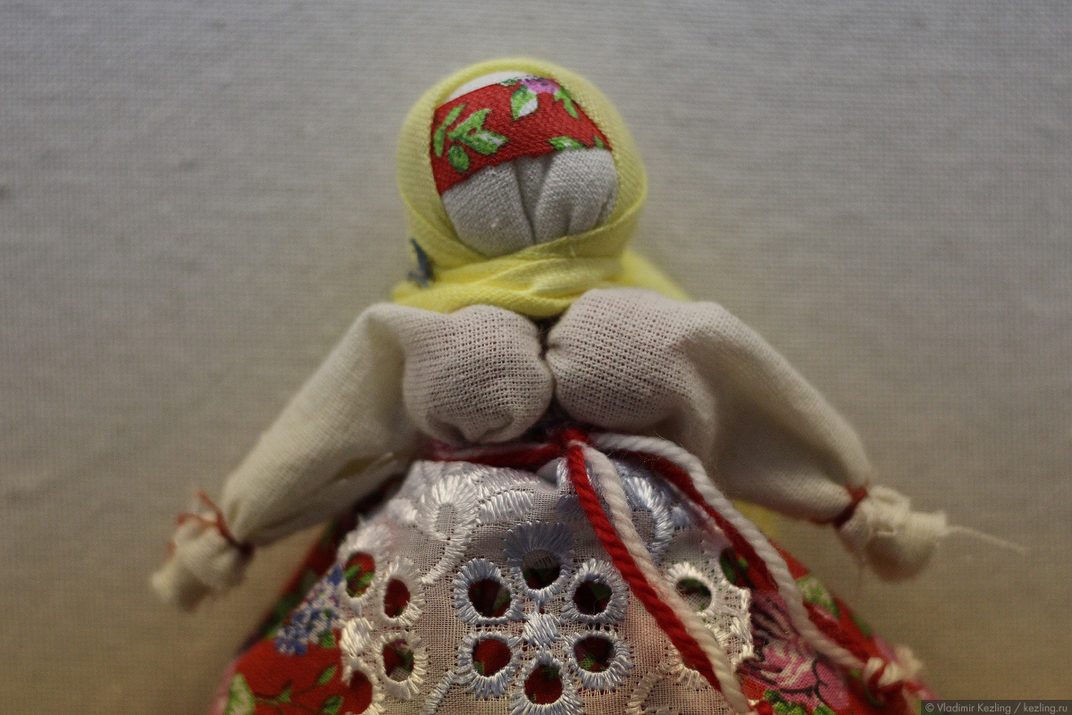Вепсская игрушка
