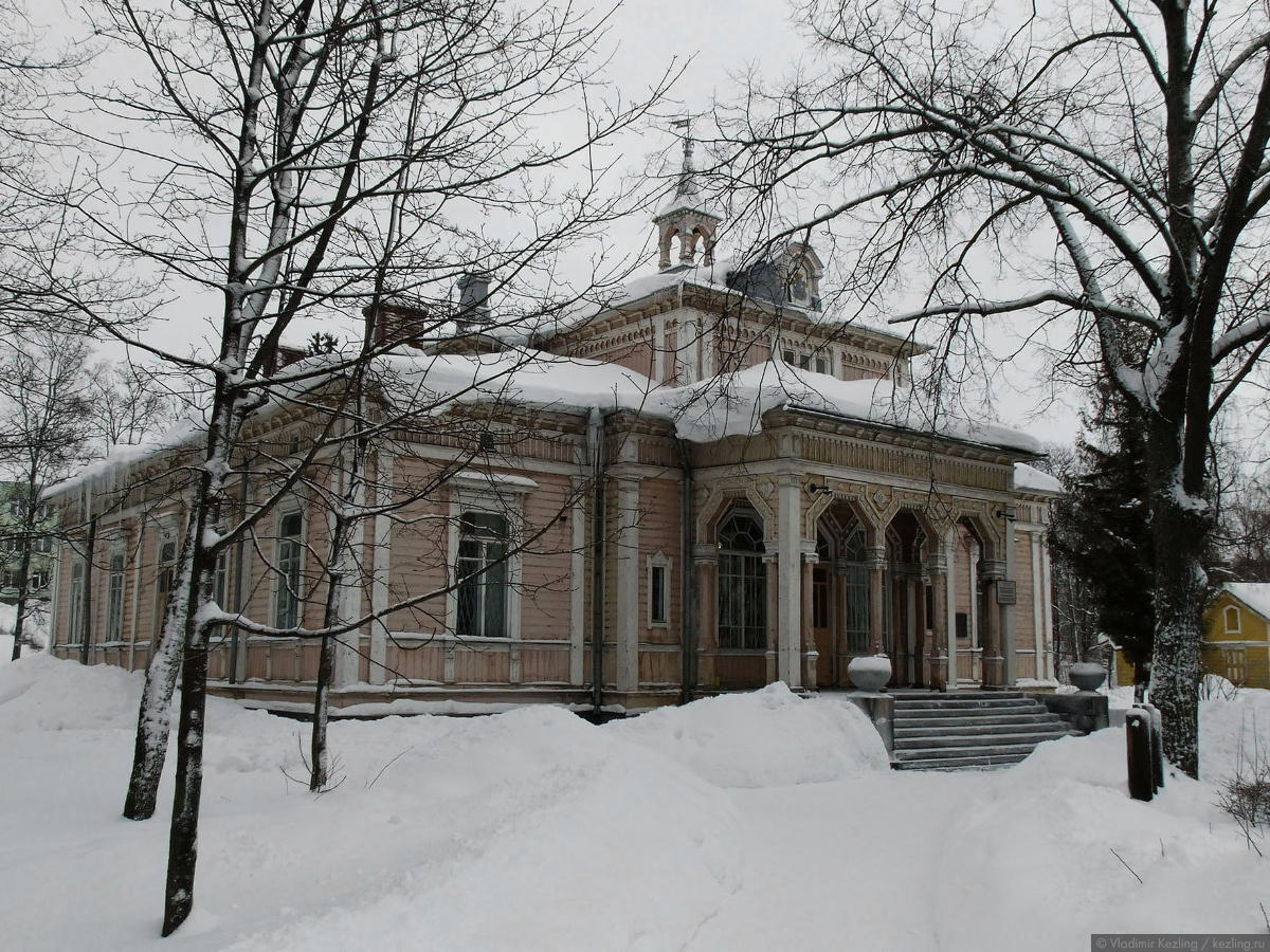 Via Karelia. Cортавала зимой