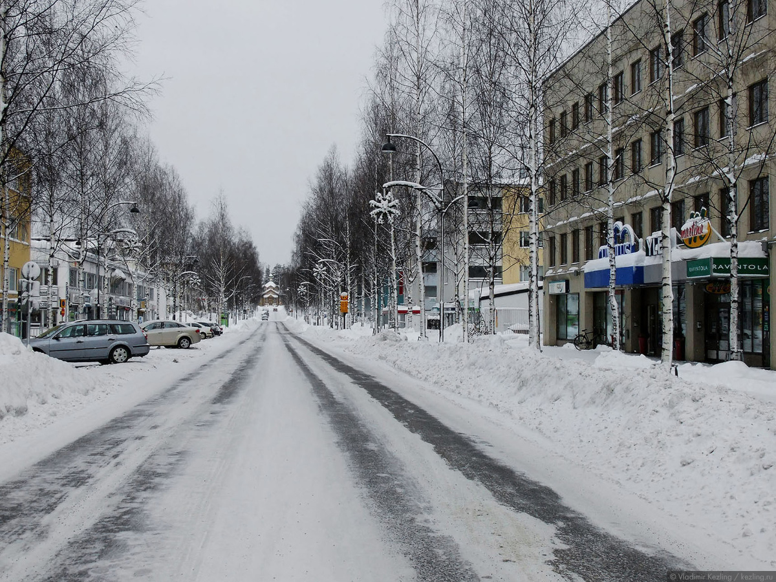 Via Karelia. Йоэнсуу