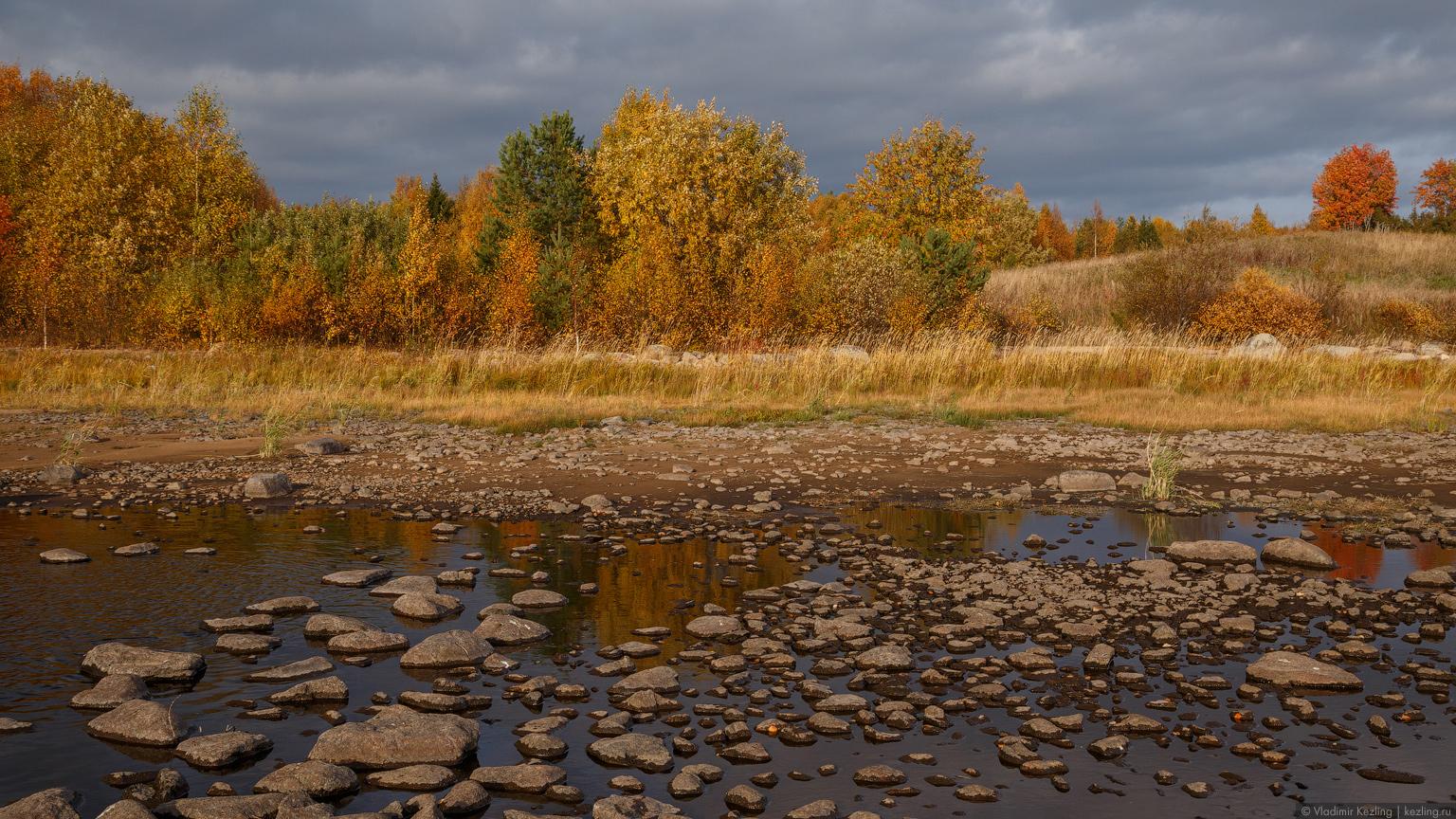 Золотая осень на Водлозере