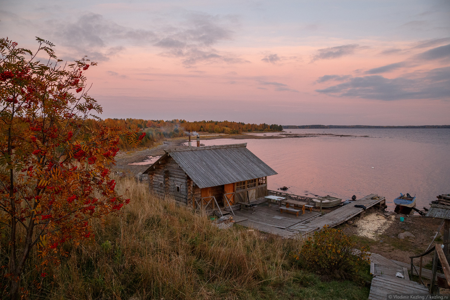 Золотая осень в Водлозерье