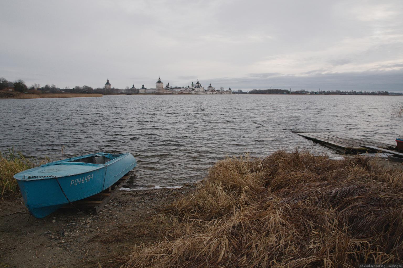 Поздняя осень на Русском Севере. Каменные твердыни Вологодчины