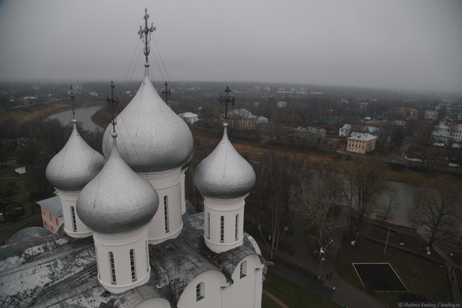 Поздняя осень на Русском Севере. Вологда или Ода резному палисаду